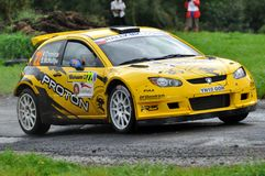 Raceauto Keith Cronin Stock Foto
