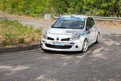 Raceauto Renault Clio Stock Afbeelding
