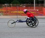 Raceauto in Rood royalty-vrije stock afbeeldingen