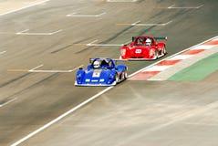 Raceauto's Royalty-vrije Stock Foto's