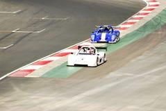Raceauto's royalty-vrije stock foto