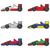 Raceauto's Royalty-vrije Stock Fotografie
