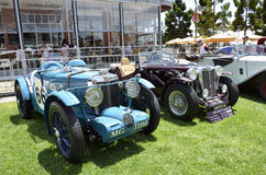 Raceauto's. Royalty-vrije Stock Afbeelding