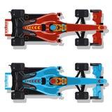 Raceauto's stock illustratie