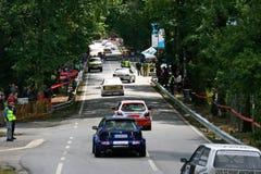 Raceauto's in Rampa DA Falperra 2012 Royalty-vrije Stock Foto's