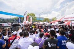 Raceauto's in Toyota Motorsport Royalty-vrije Stock Foto