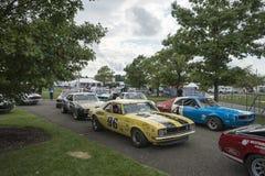 Raceauto'sdeelnemers Royalty-vrije Stock Fotografie