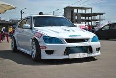 Raceauto Toyota Alteza Stock Afbeeldingen