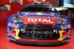 Raceauto van Citroà de ?n ds3 Stock Fotografie