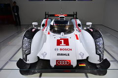 Raceauto van quattro de hybride Le Mans van Audi R18 e-Tron Royalty-vrije Stock Afbeelding