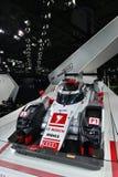 Raceauto van quattro de hybride Le Mans van Audi R18 e-Tron Royalty-vrije Stock Foto's