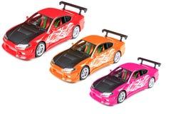 Raceautoauto's Royalty-vrije Stock Afbeeldingen