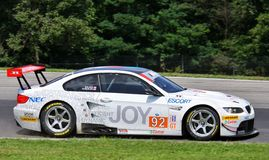 Raceautobestuurder Bill Auberlen stock foto