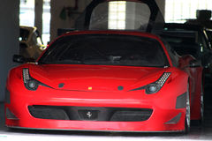 Racebred ferrari Stock Photography