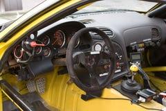 Racecar Cockpit Stock Image