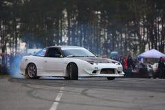 Racecar drift Stock Images