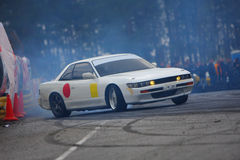 Racecar drift Royalty Free Stock Images