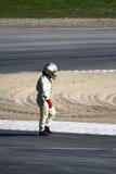 racecar kierowcy odprowadzenie Fotografia Stock