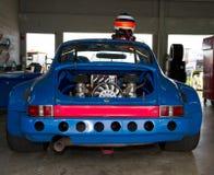 racecar motor Arkivfoto