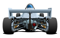 Racecars. Rear elevation. Stock Images