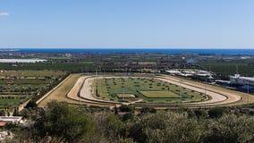 Racecourse αλόγων Στοκ Φωτογραφία