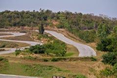 Racecourse βρίσκεται στο βουνό Στοκ Εικόνες