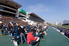 racecourse του Χογκ Κογκ κασσίτ& στοκ φωτογραφίες με δικαίωμα ελεύθερης χρήσης