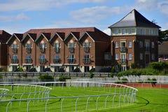 Racecourse Royaltyfria Foton