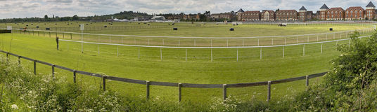 racecourse Arkivfoton