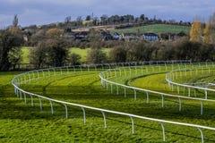 racecourse Royaltyfri Foto