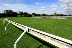 Racecourse that competition Royalty Free Stock Image