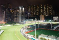 Racecourse feliz do vale em Hong Kong foto de stock royalty free