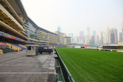 Racecourse in Hong Kong Stock Photography