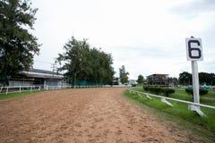 Racecourse jest żadny rywalizacją Zdjęcia Stock