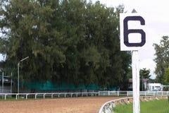 Racecourse jest żadny rywalizacją Zdjęcia Royalty Free