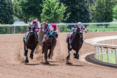 Racecourse - Keeneland Corner 4 Royalty Free Stock Photos