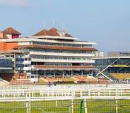 Racecourse Newbury εξέδρα επισήμων Στοκ εικόνα με δικαίωμα ελεύθερης χρήσης