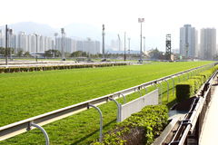Racecourse Racing Track Stock Image