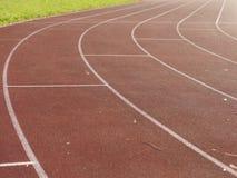 Racecourse sports field Stock Image