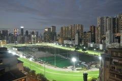racecourse szczęśliwa dolina Zdjęcia Stock