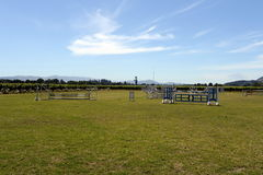 Racecourse winery Viu Manent. Stock Photos
