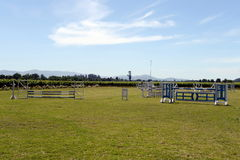 Racecourse winery Viu Manent. Royalty Free Stock Photo