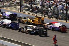 Raceday stock afbeeldingen