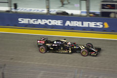 Raceday principal da fórmula 1 de Singapura Fotos de Stock Royalty Free