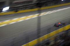 Raceday principal de la fórmula 1 de Singapur Fotografía de archivo libre de regalías