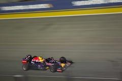 Raceday principal de la formule 1 de Singapour Images libres de droits
