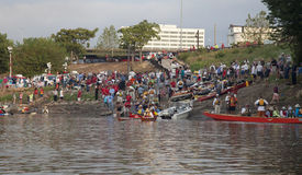 raceflod för 340 missouri royaltyfri foto