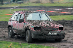 Raceing whit nadokienny otwiera Zdjęcia Royalty Free