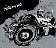 racer Royalty-vrije Stock Afbeelding