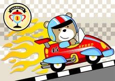 racer royalty-vrije illustratie